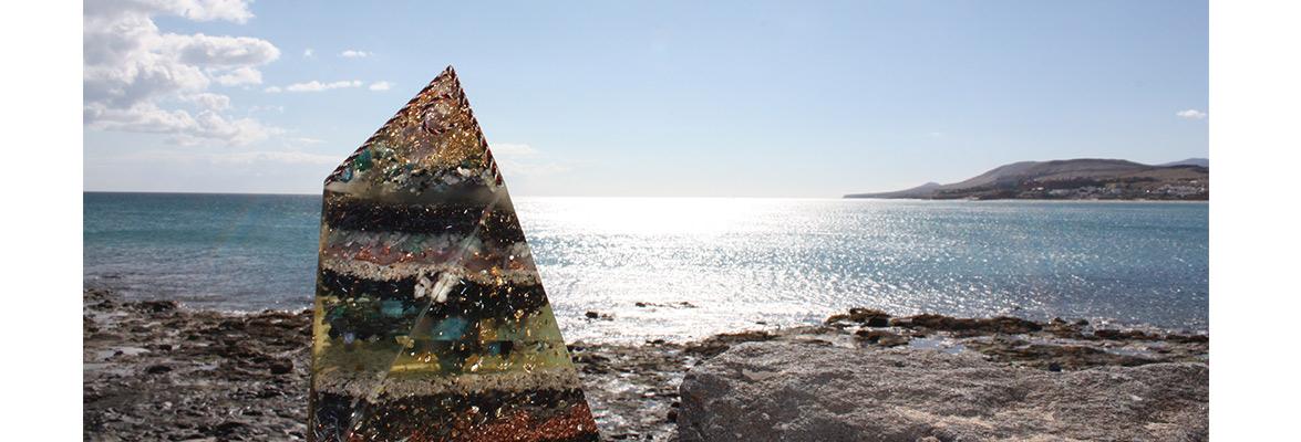 runde pyramide basteln